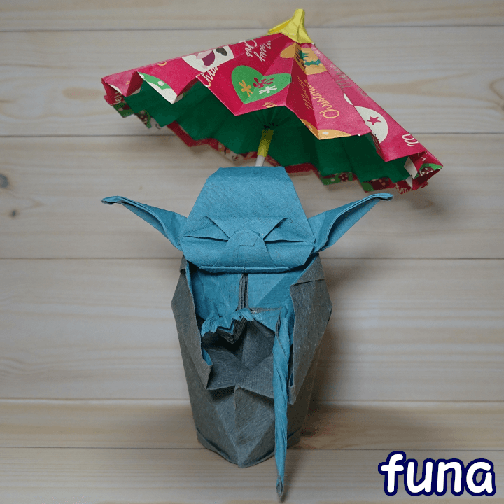 折り紙ヨーダ