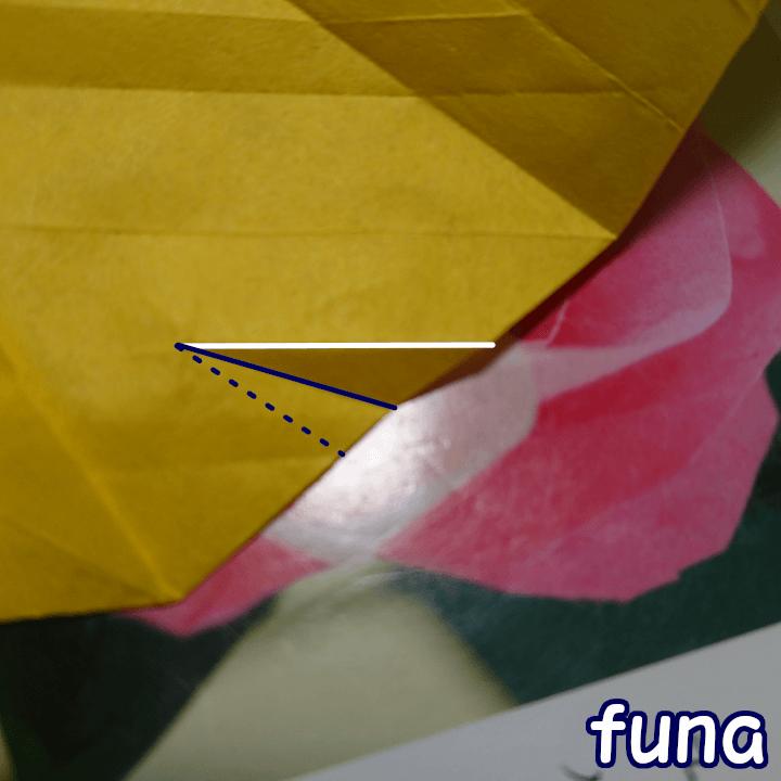 基本の五角バラ